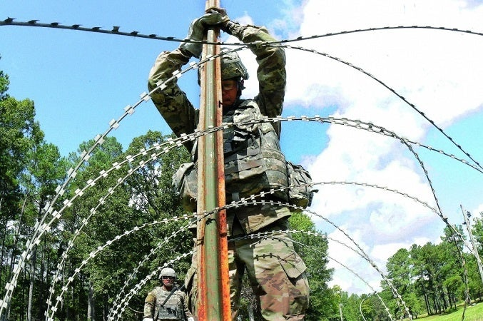 How concertina wire became such an effective defense tool