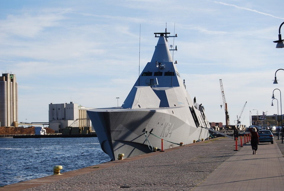Sweden shows its teeth with ship deployment to NATO exercise