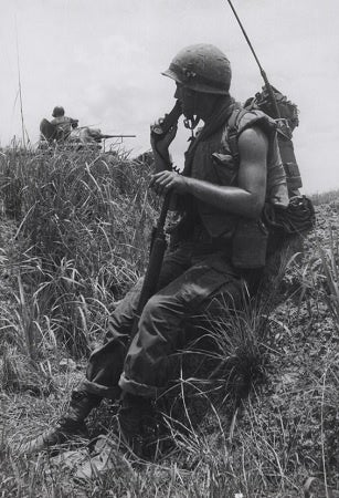 Radiomen in the Vietnam War faced a 5-second life expectancy