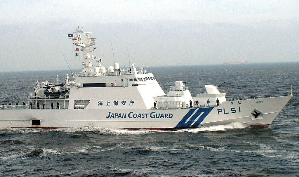 Coast guard searches, but Japan has lost an island