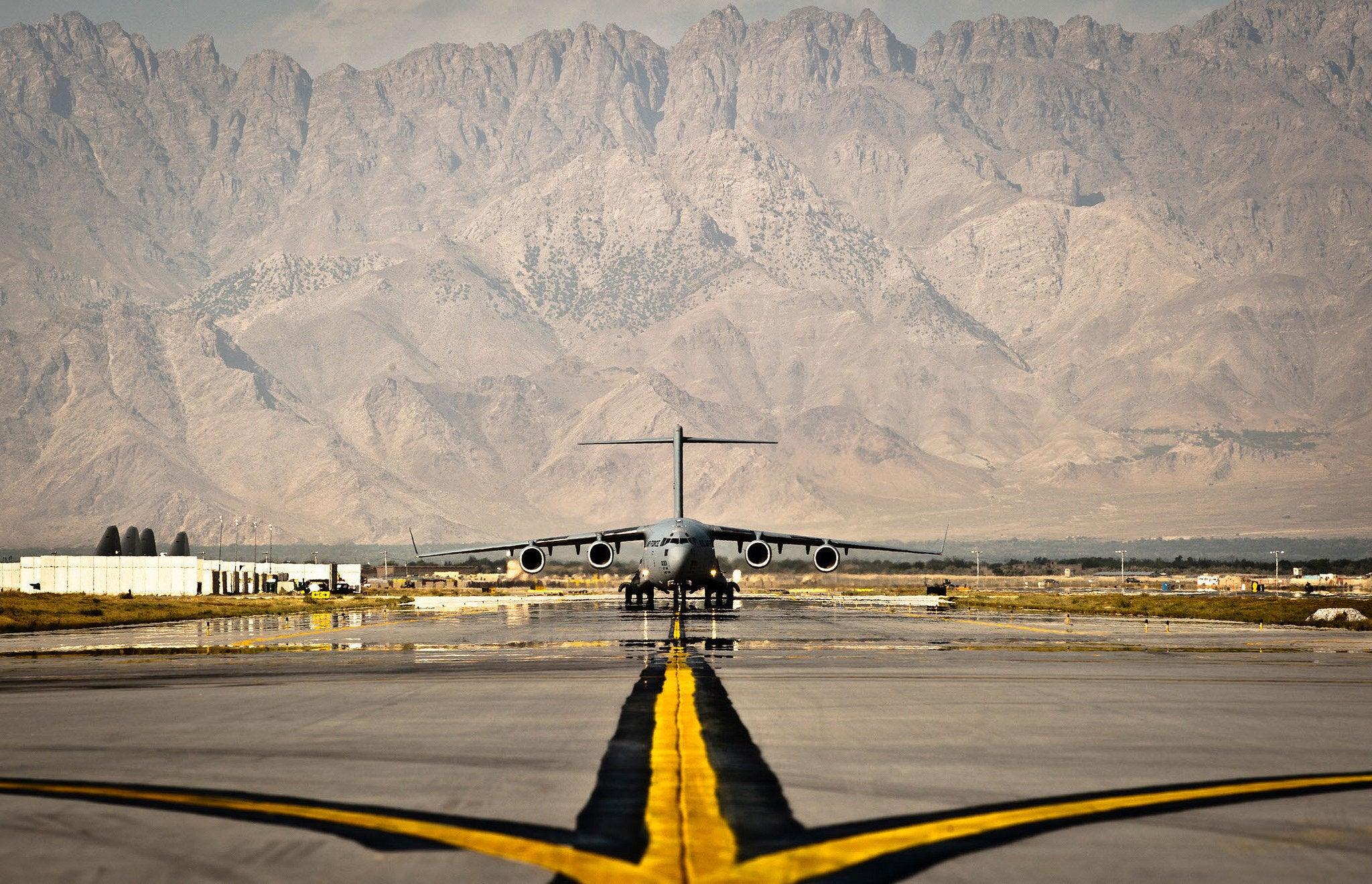 How security forces airmen defend planes at Bagram