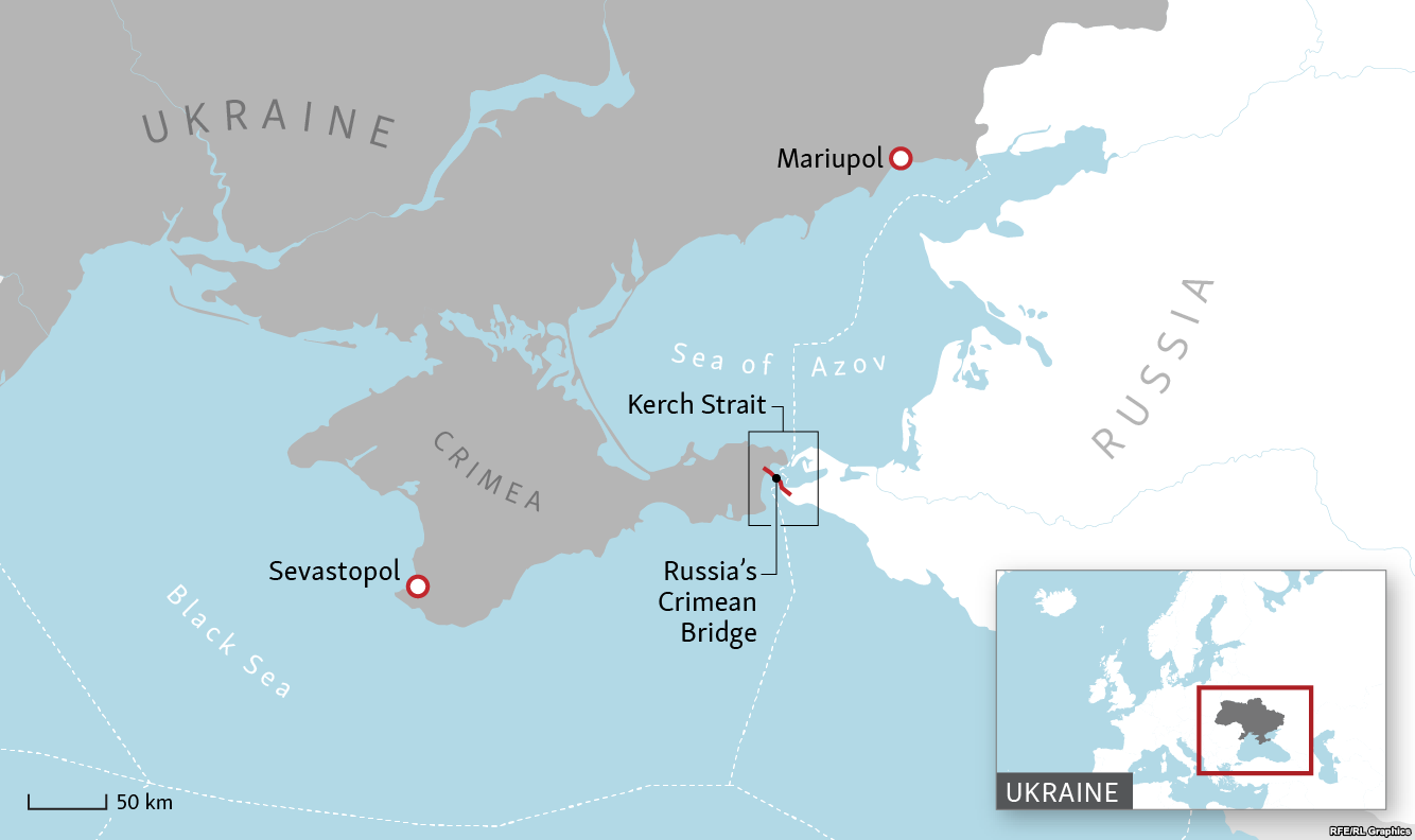 West backs up Ukraine as it tries to recover captured sailors