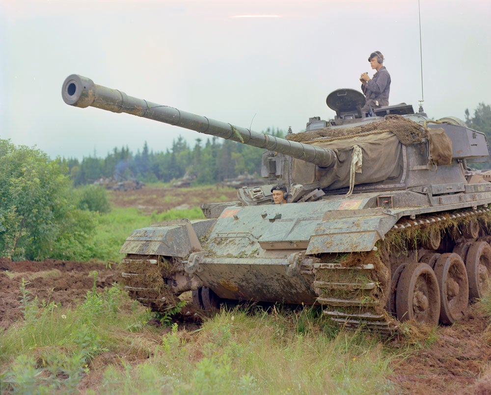 The British Centurion tank could've been a top tank in World War II, but it was released just month after the conflict ended. Instead, it became a top-tier Cold War tank, but Indian Army Centurions often lacked the numerous, vital upgrades made tot he platform between 1946 and 1965.  (Library and Archives of Canada)