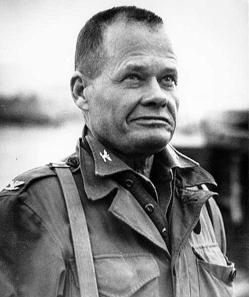 Puller during the Korean War.