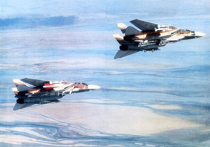 That time an F-14 killed three MiGs with a single missile