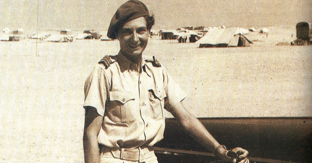 This is the first woman to ever join the French Foreign Legion