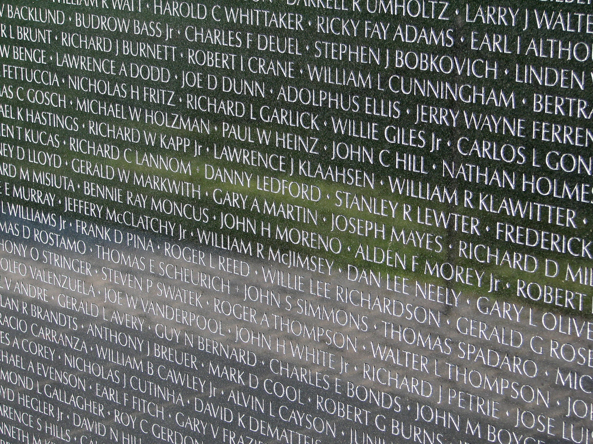 Why names are added to the Vietnam Veterans Memorial Wall