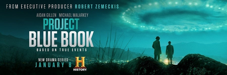 Here's what 'Project Blue Book' creator, David O'Leary, has to say about UFOs
