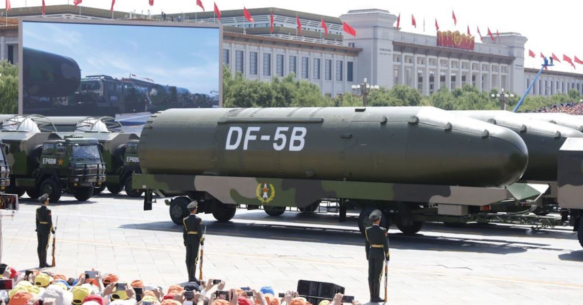 China's powerful new weapons could be sending a message