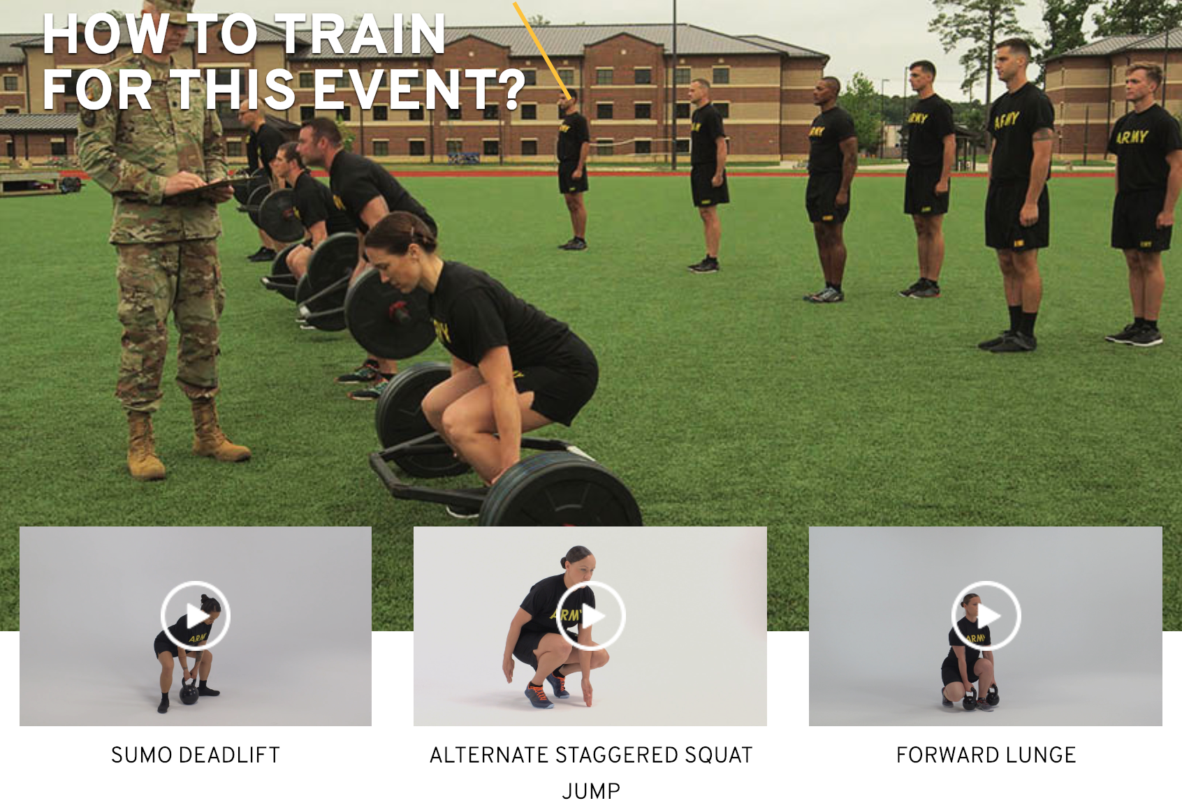 The crazy helpful guidance for the Army Combat Fitness Test