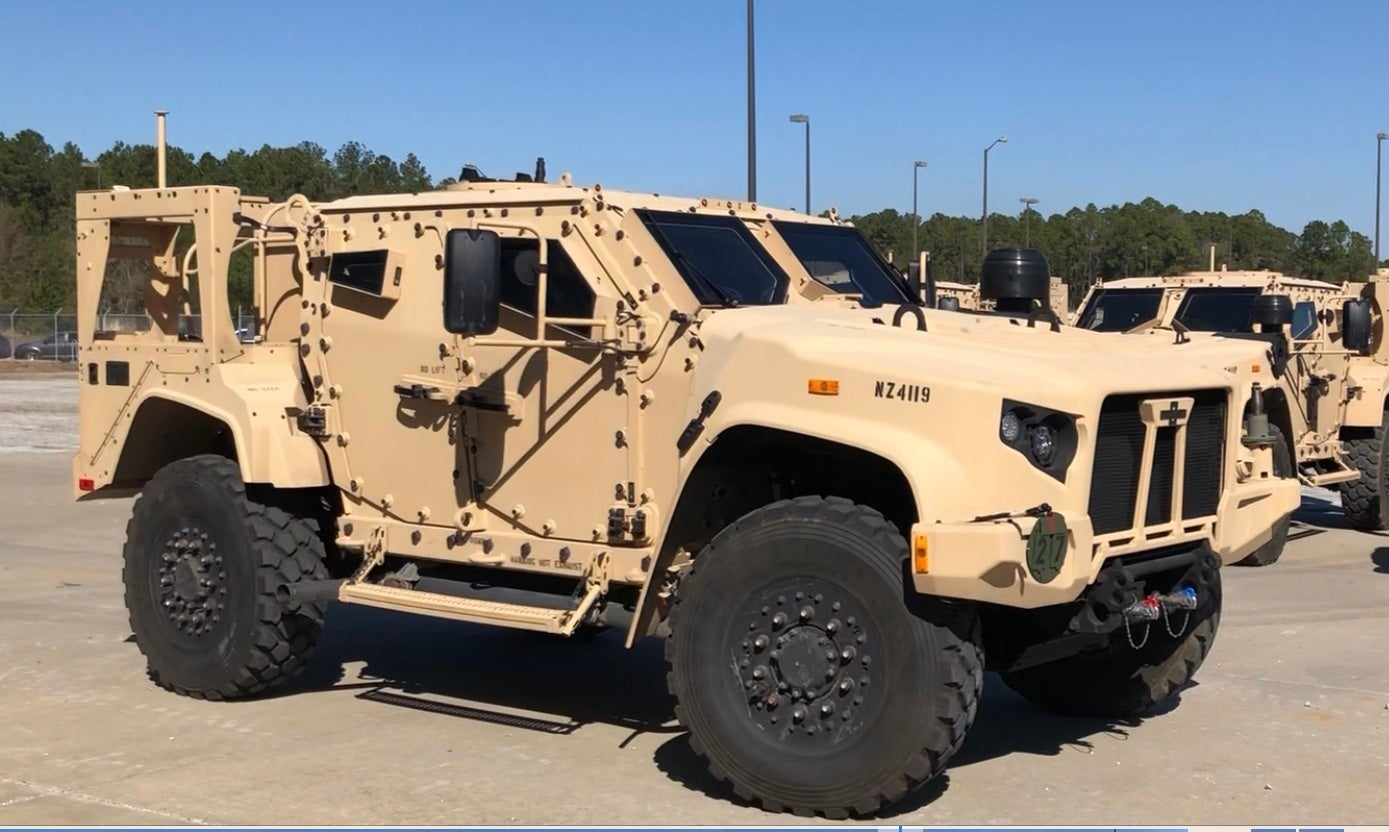 Baby's got a new Joint Light Tactical Vehicle