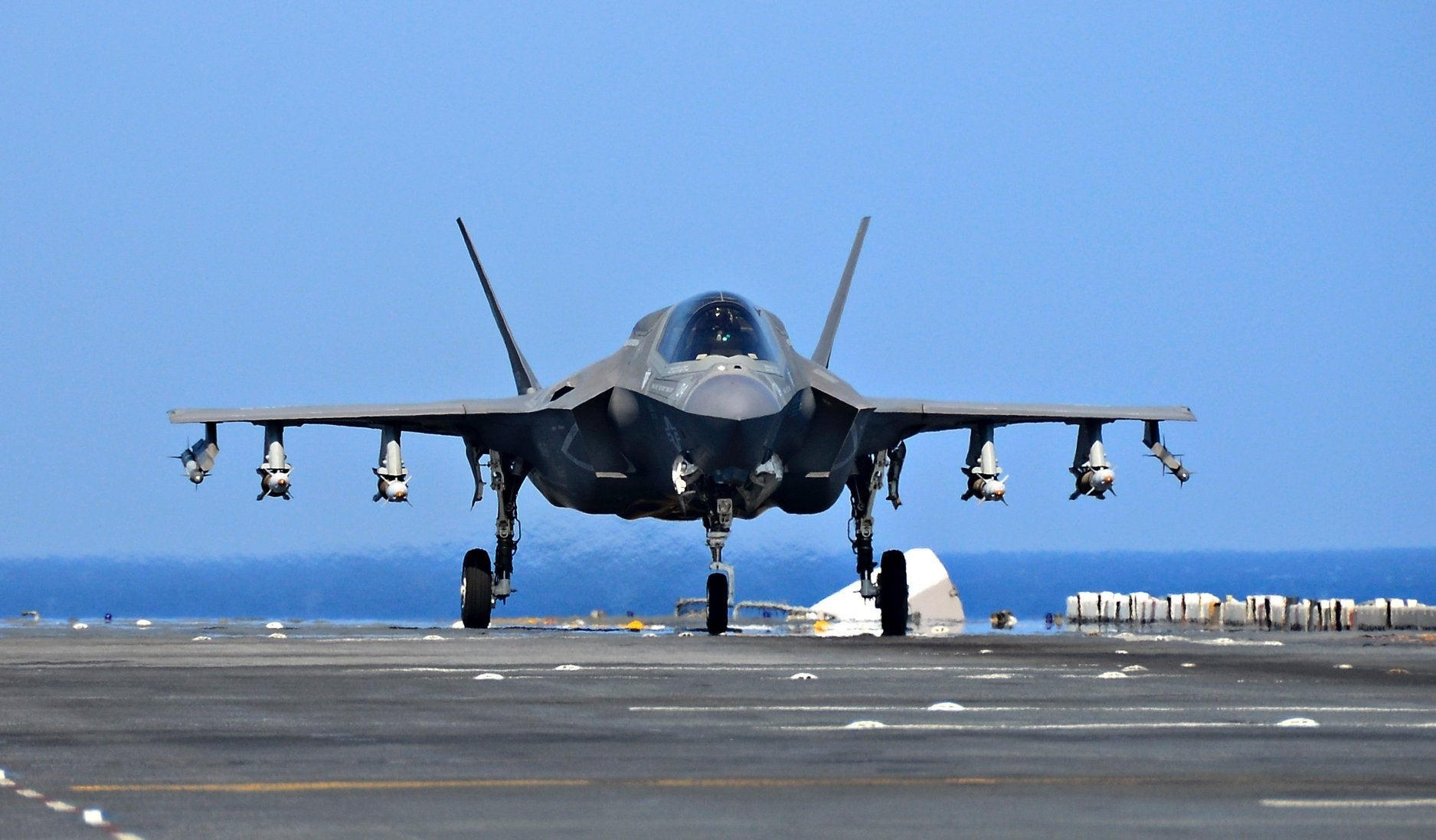 These pics show what F-35 'Beast Mode' looks like