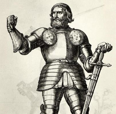 This medieval warrior was the first to use a now-famous insult