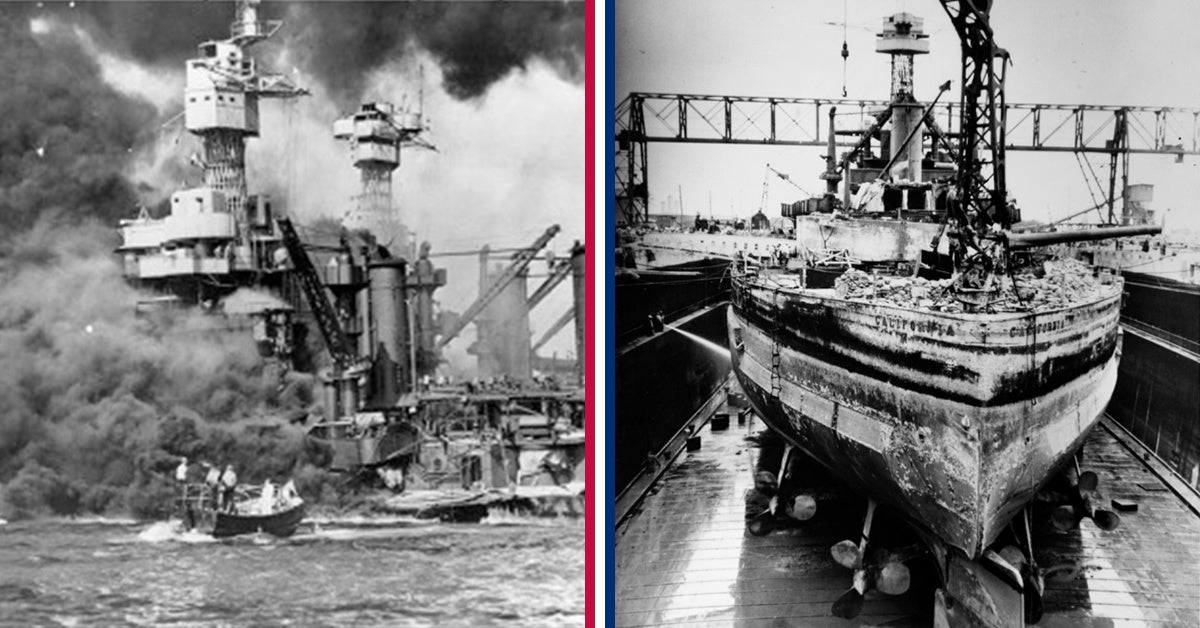 www.wearethemighty.com: 7 ships sunk at Pearl Harbor fought in World War II