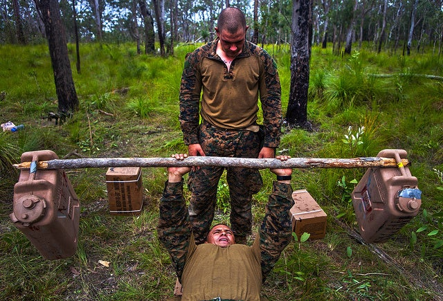 This is the first enlisted woman to graduate Sapper Leader Course