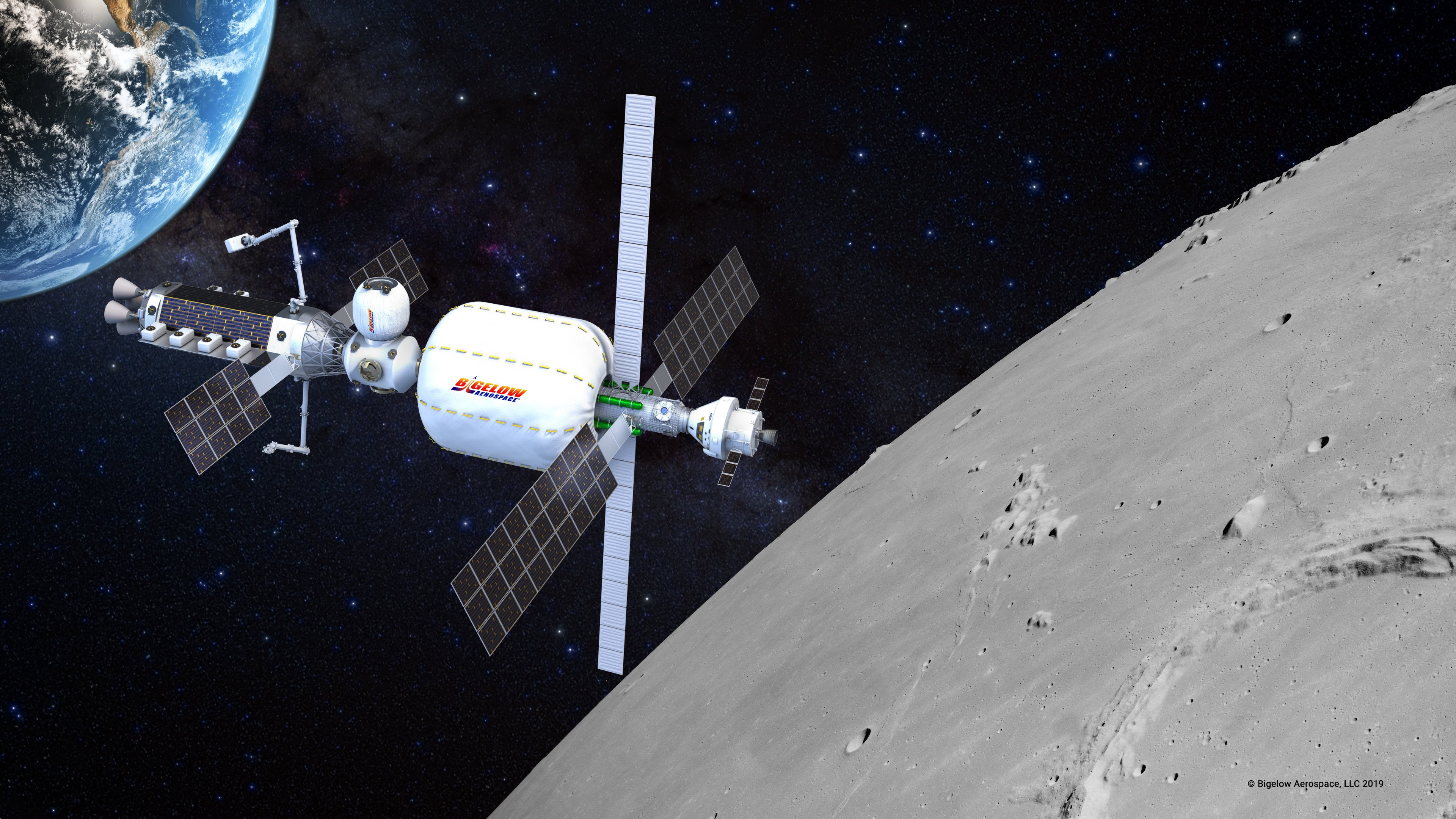 These are the habitation prototypes for NASA's 'Moon-to-Mars' mission