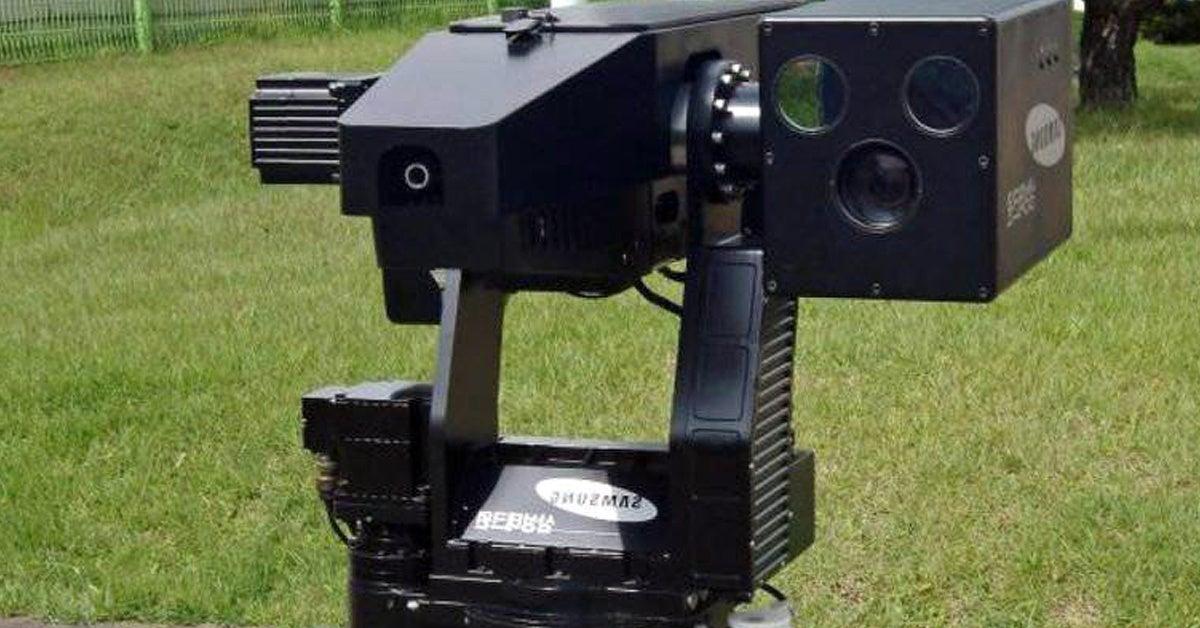 These insane robot machine guns guard the Korean DMZ