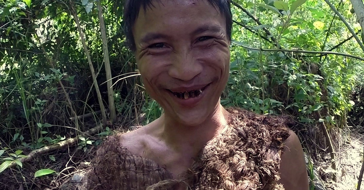 A North Vietnamese soldier hid in the jungle for 40 years