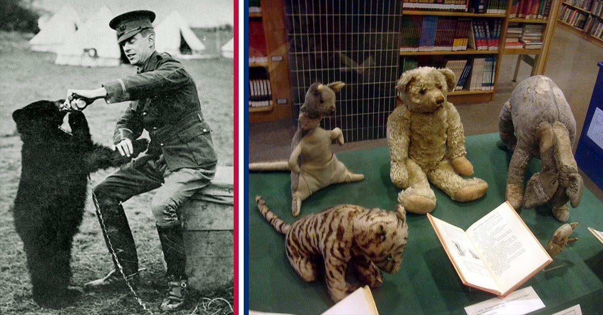 A Canadian officer rescued the real Winnie the Pooh
