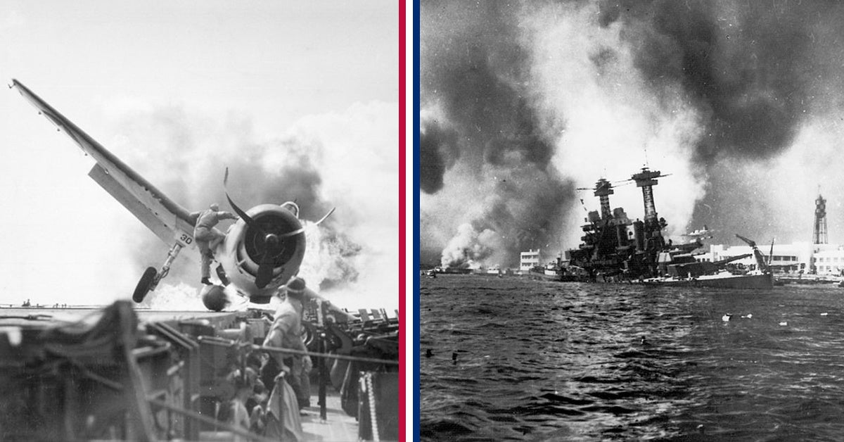 The freak accident that saved a carrier at Pearl Harbor