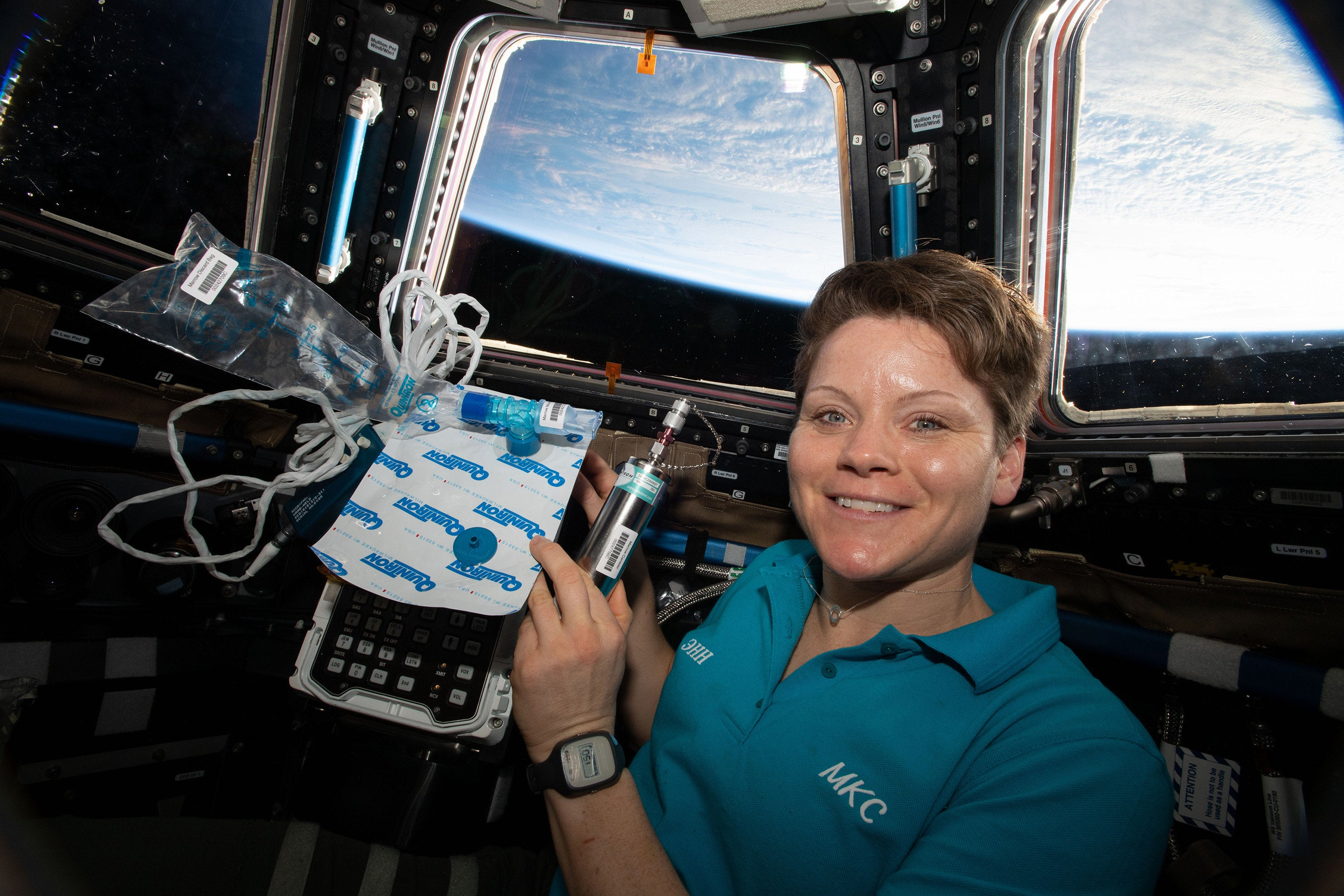 Army astronaut holds Q&A from space