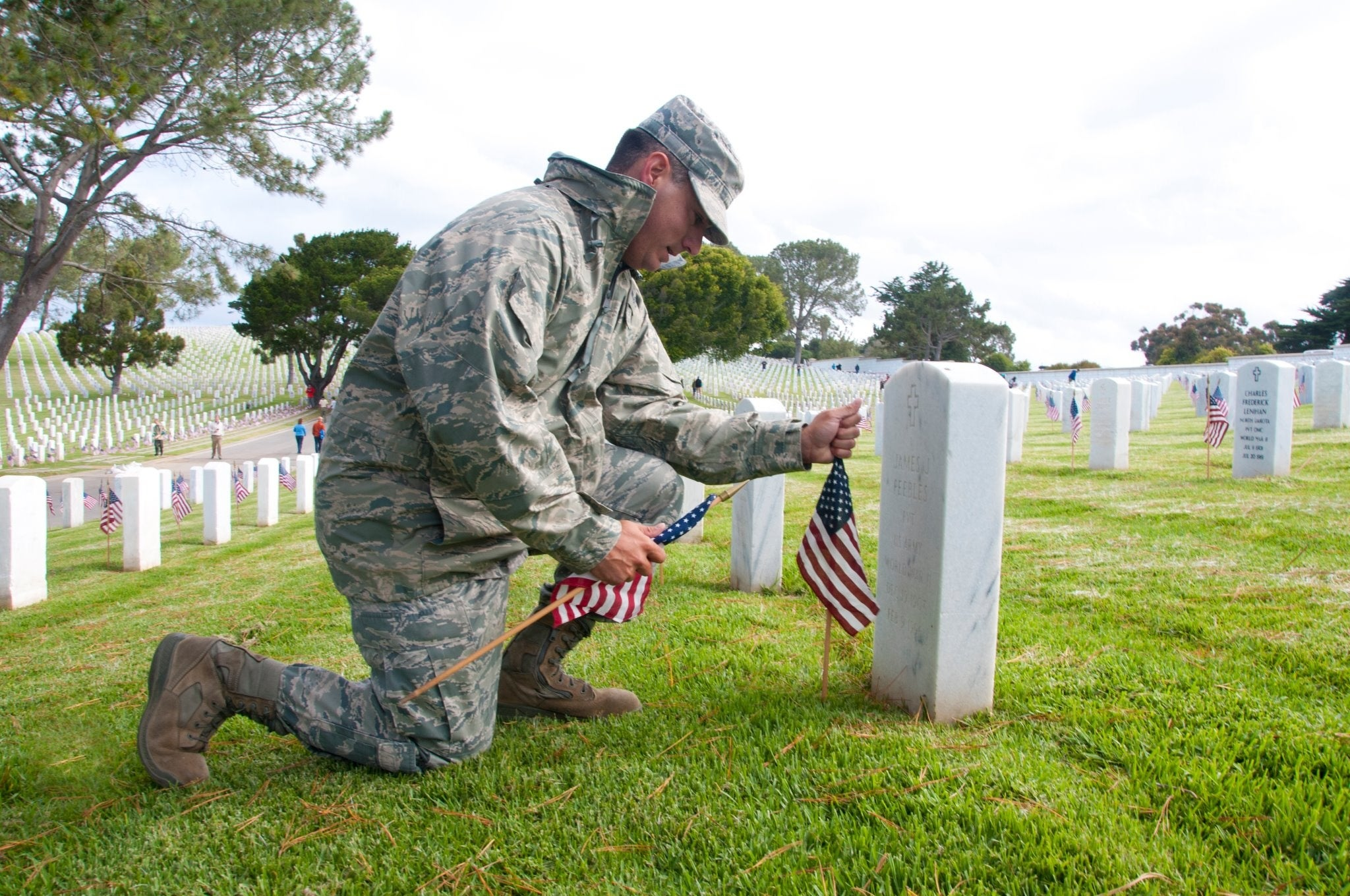 Only 55% of Americans know what Memorial Day is about
