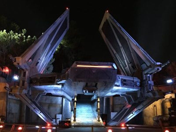 Disneyland has a 'Star Wars' easter egg from a movie that never got made