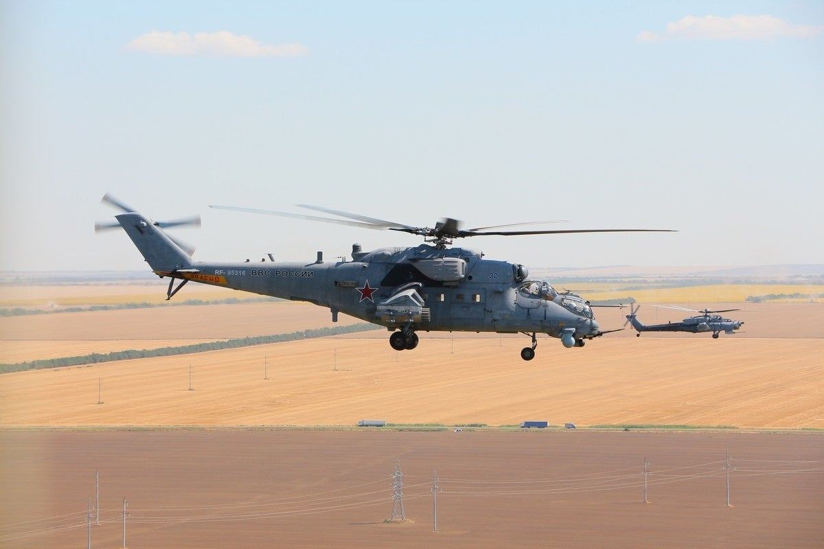 8 photos of Russia's best attack helicopters