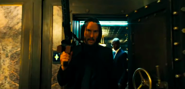 How Keanu Reeves learned to shoot guns for 'John Wick'