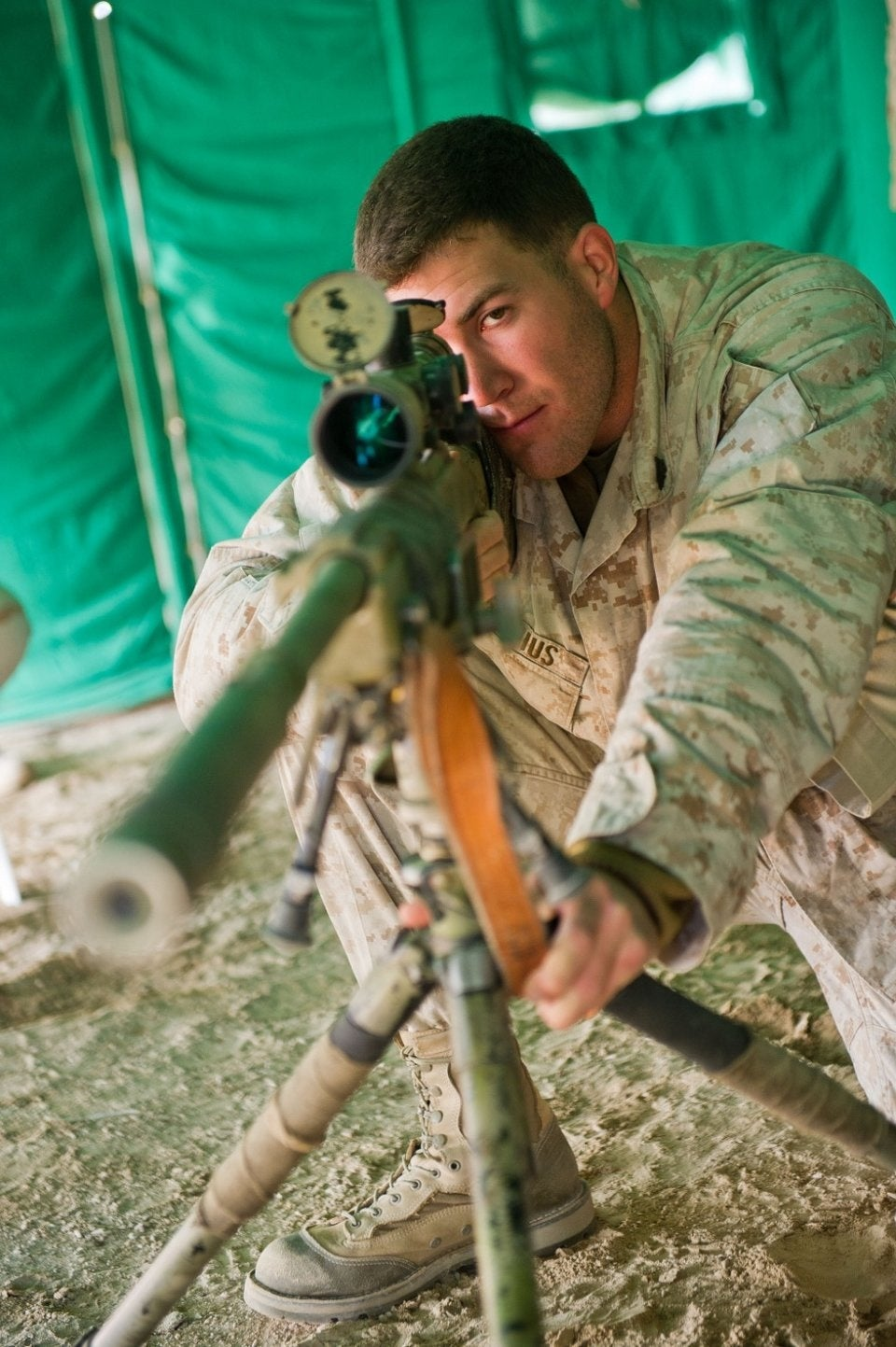 How this Marine Corps sniper took one of the toughest shots of his life