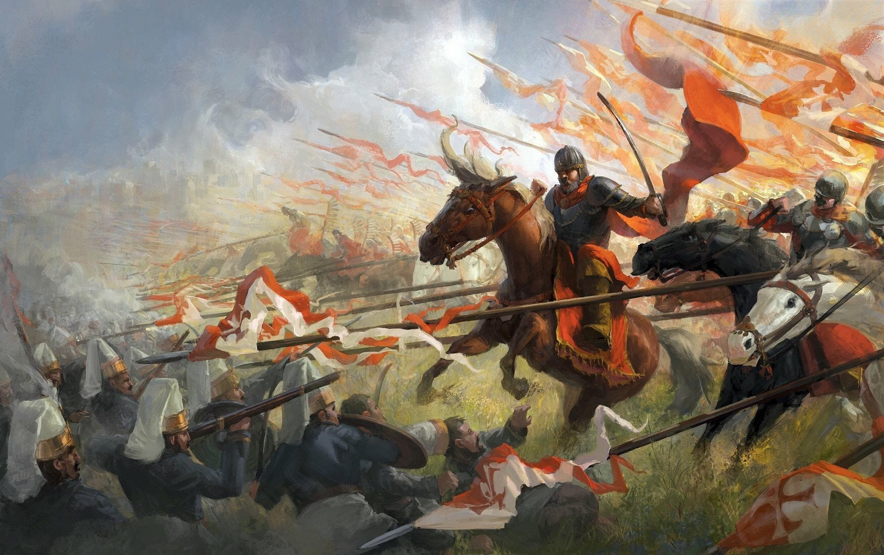 The infamous Polish cavalry charge against the Nazis actually worked