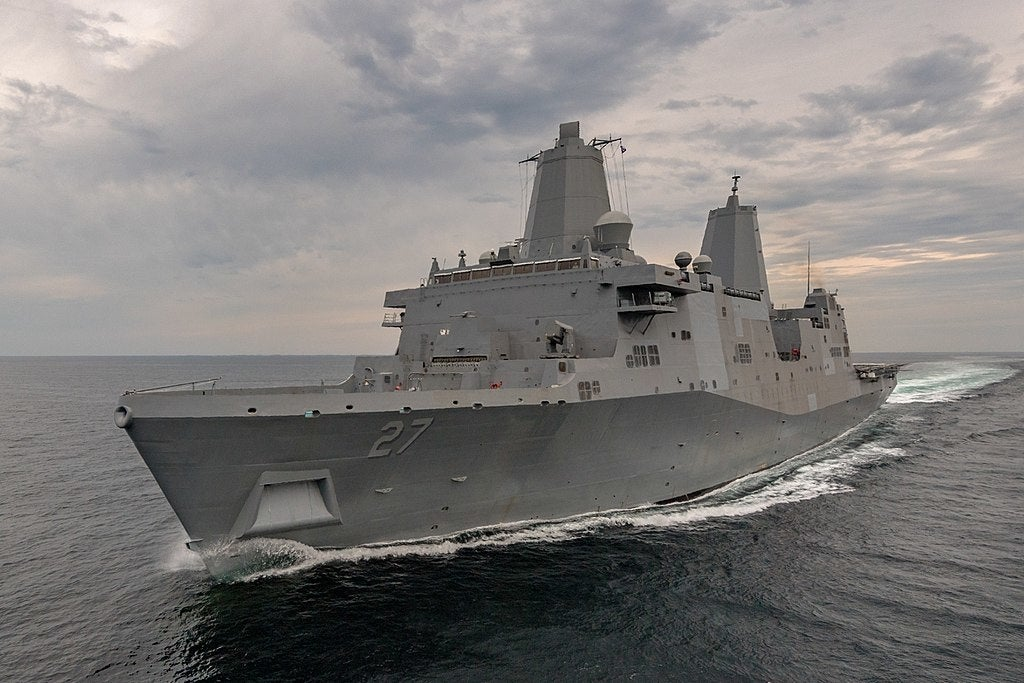 US Navy hospital ship arrives in Los Angeles to help with 'hotbed' surge of coronavirus cases