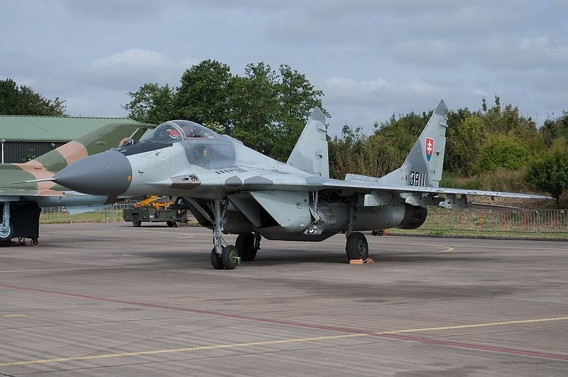 Slovakia grounds fleet of soviet-made jets after crash