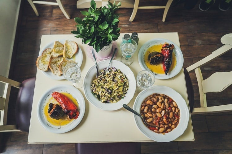The benefits of a vegetarian meal: Where's the beef?