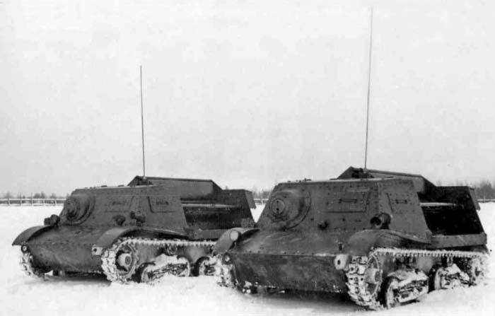 These are the Soviet drone tanks of World War II