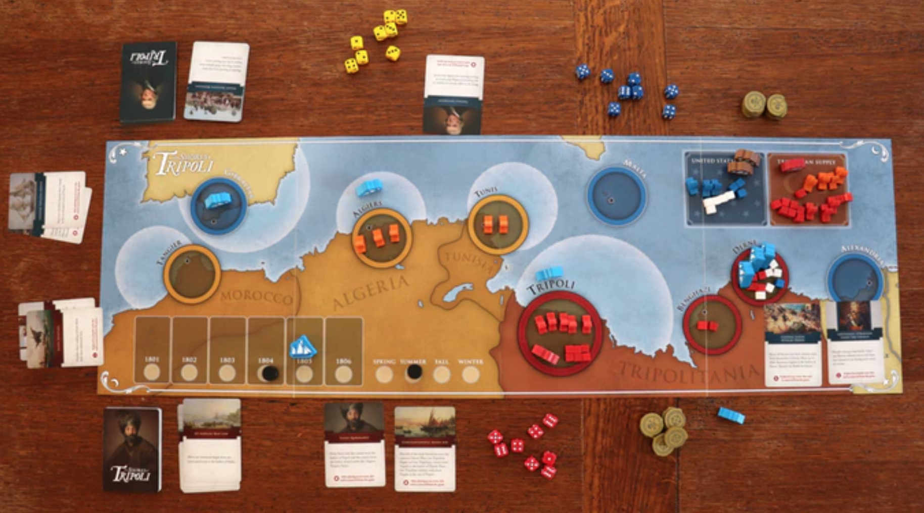Win the first War on Terror by backing 'Shores of Tripoli' on Kickstarter