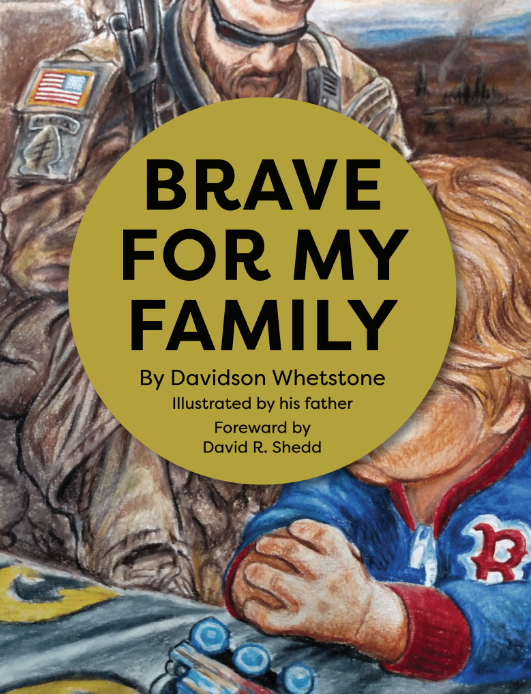 This Green Beret's kid wrote a book on coping with deployments