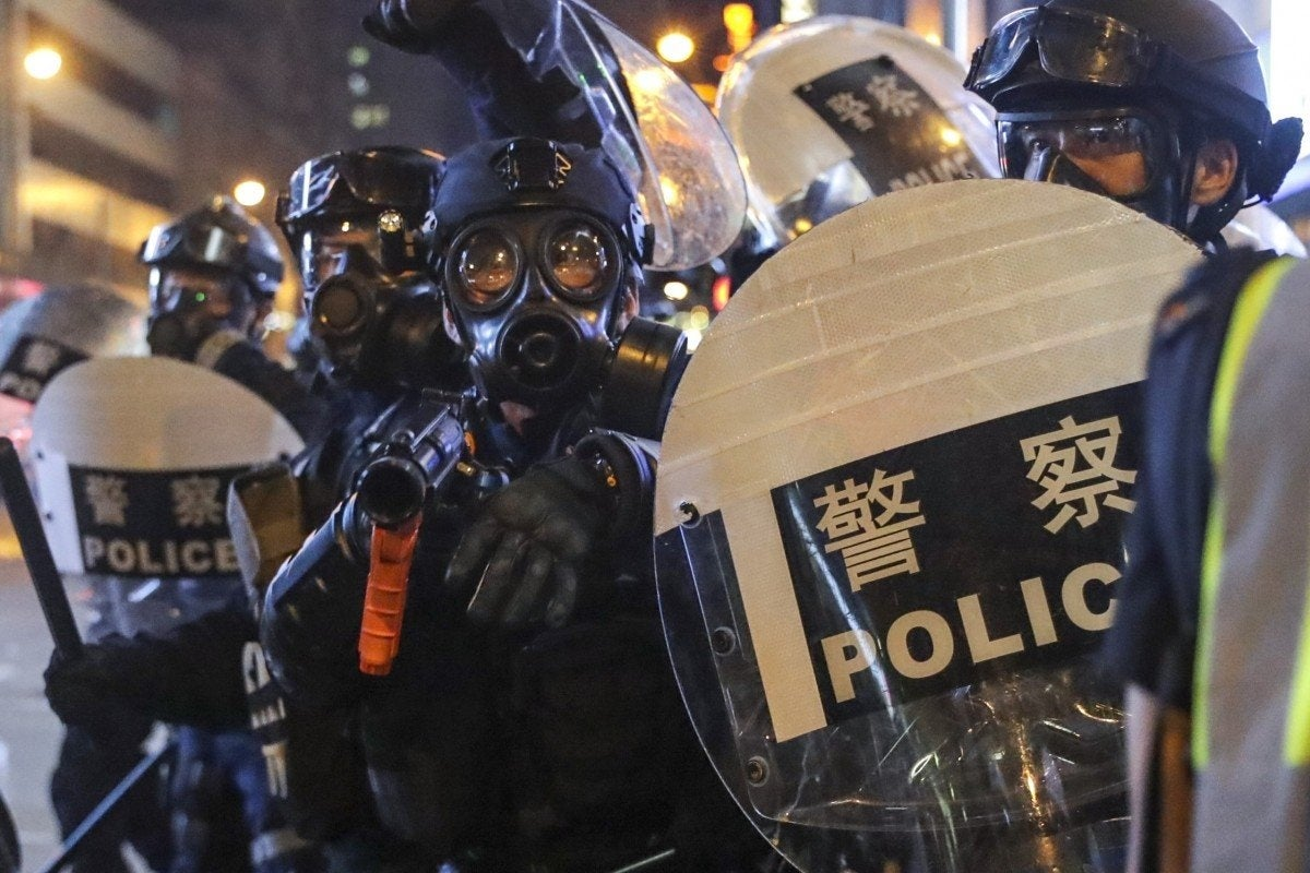 The 'Raptors' are elite Chinese police arresting protesters in Hong Kong