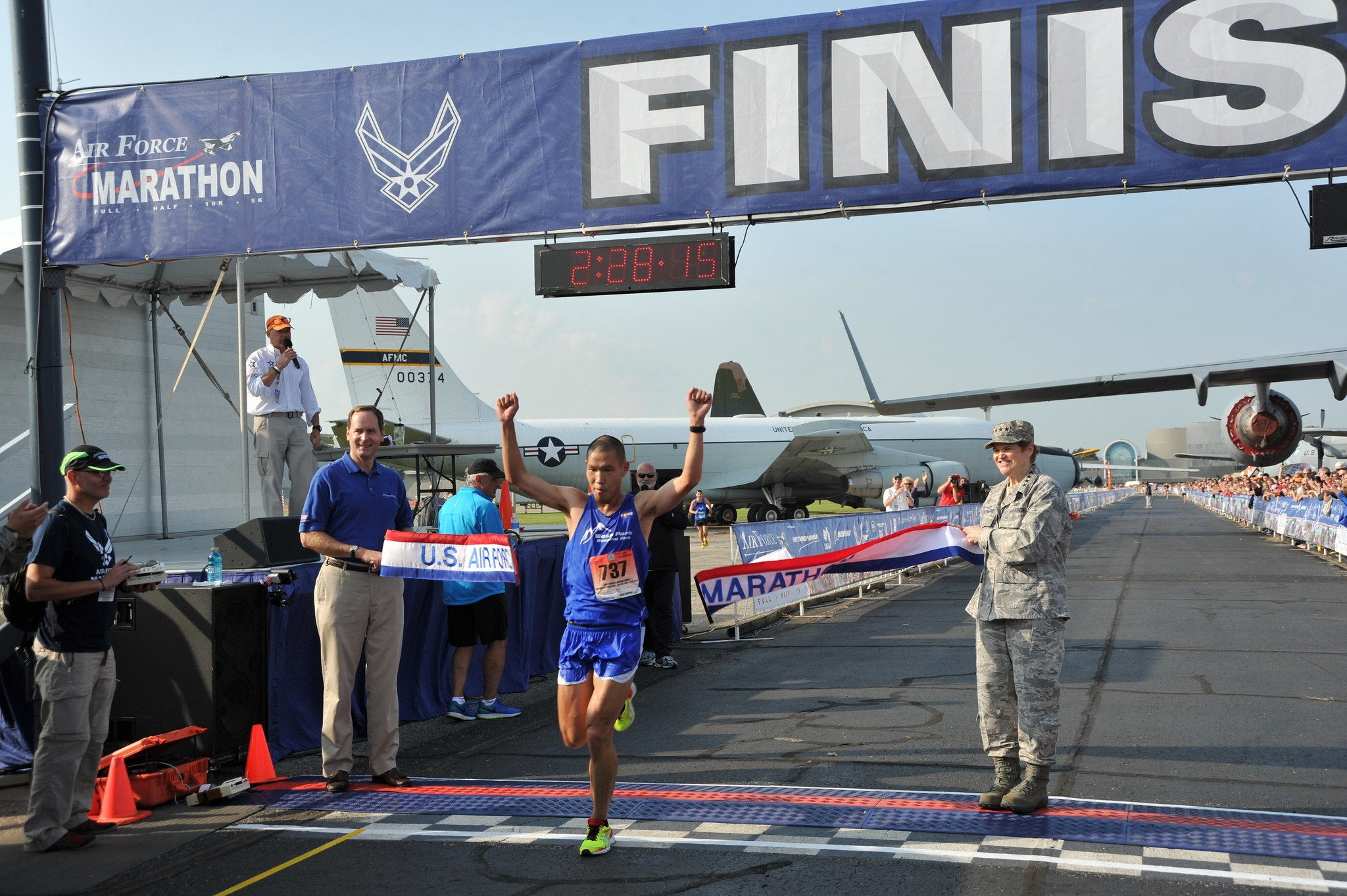 Here's how to register for the 2020 Air Force Marathon