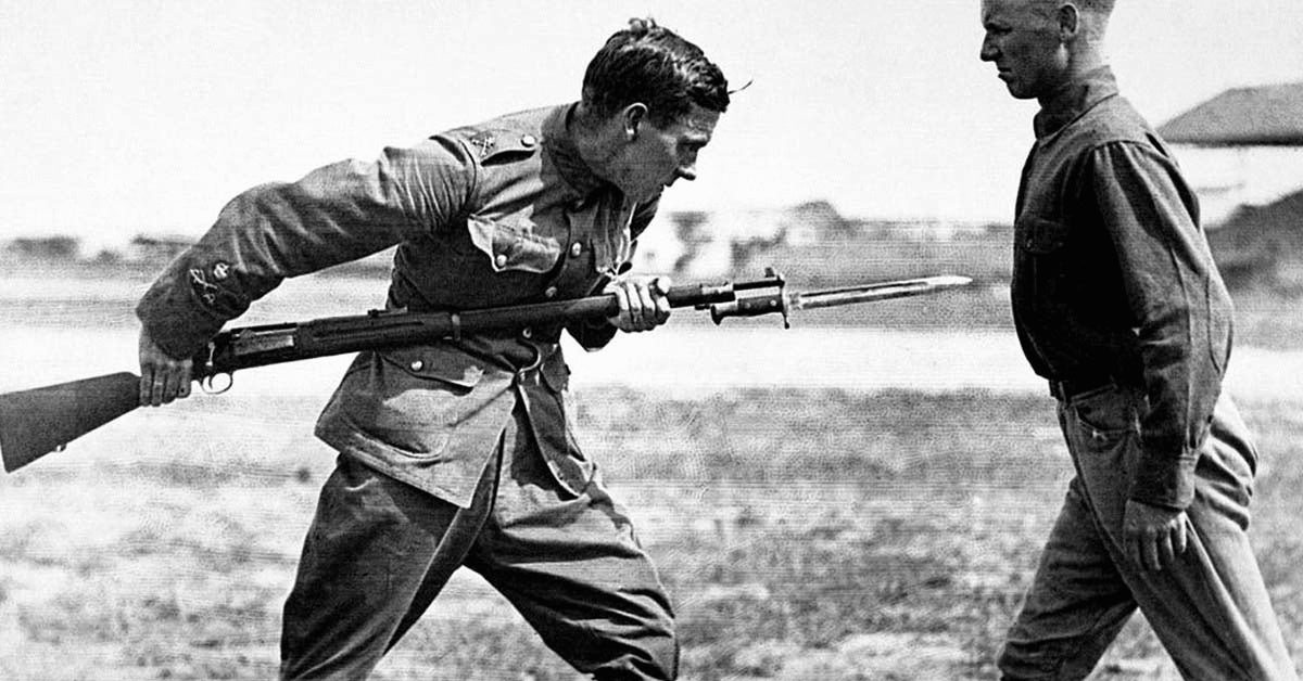 Why Us Troops In World War I Ditched The Bayonet For The Shovel We Are The Mighty