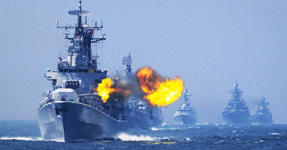 China is building a massive amount of warships