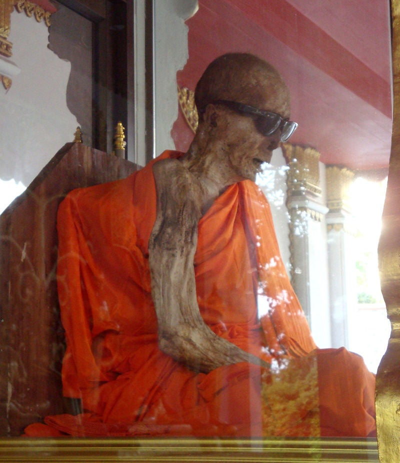The curious case of the Ray-Ban wearing Monk of Koh Sumai