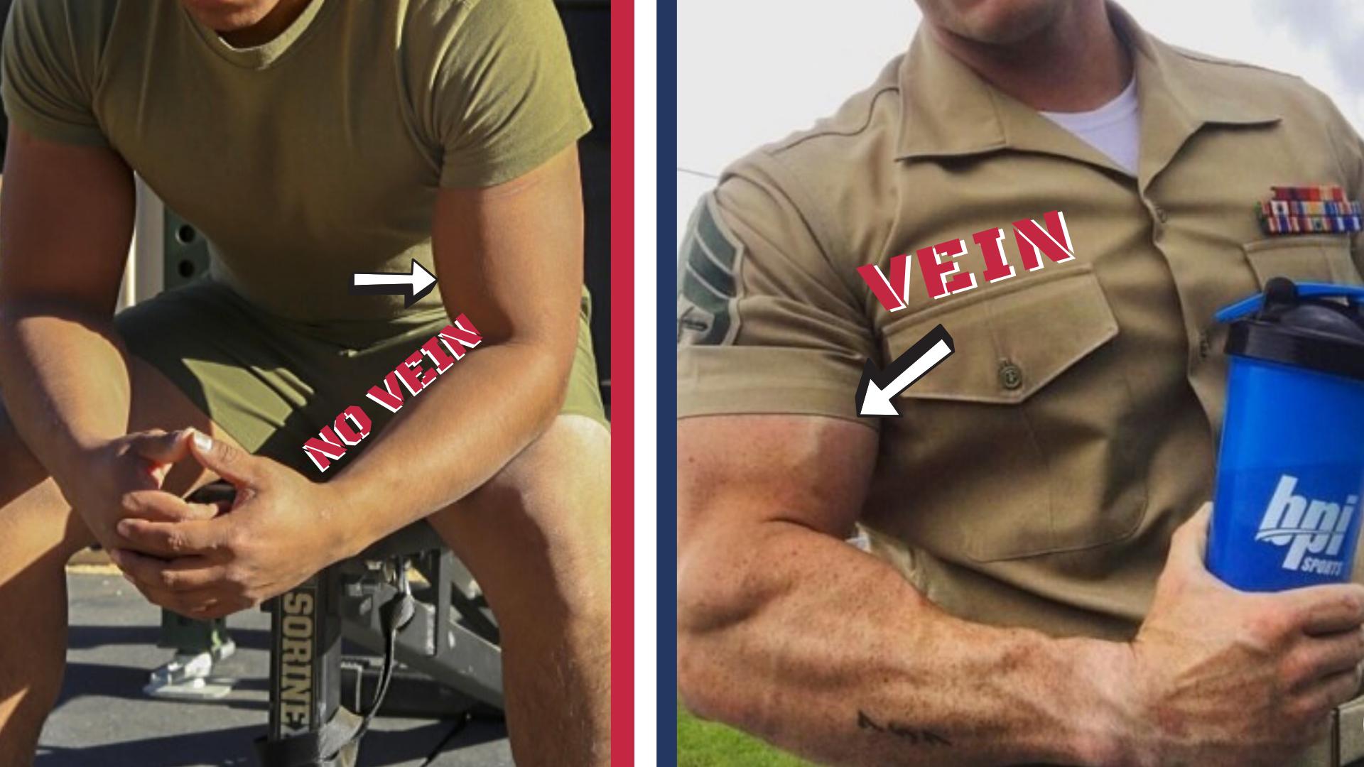 how to get arm veins