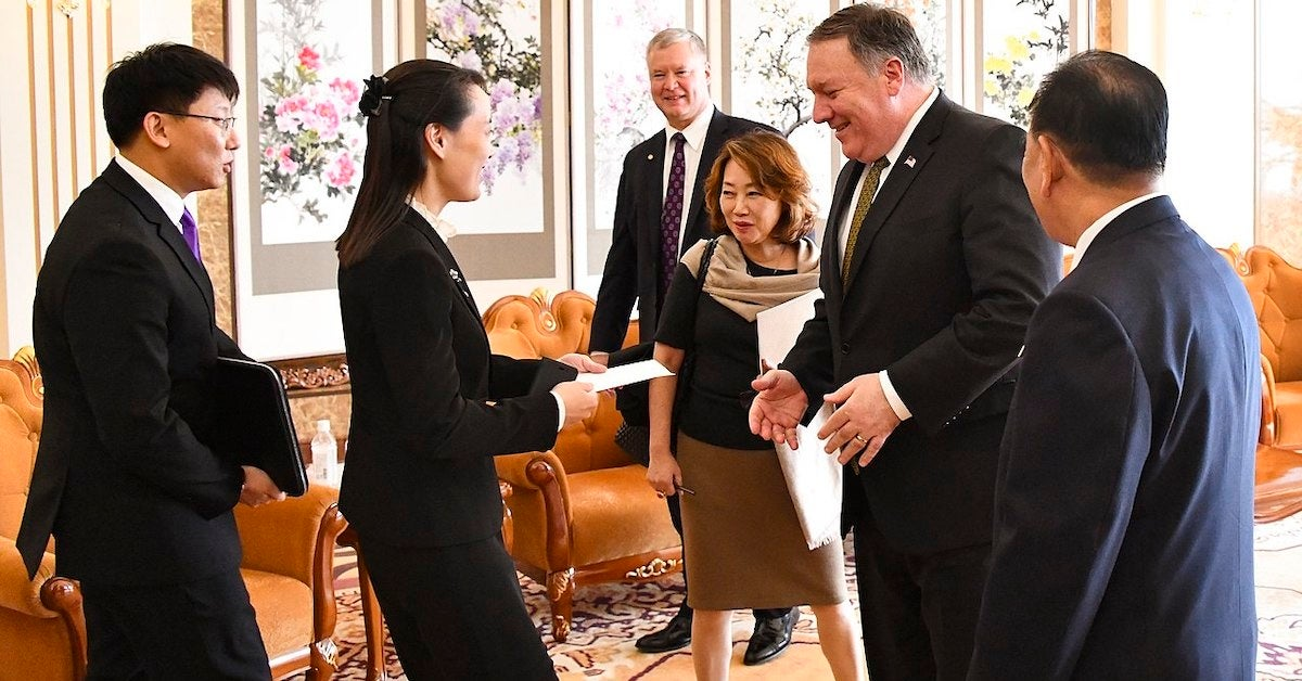 Meet North Korea's most powerful woman, Kim Yo Jong: Kim Jong Un's  30-something sister who could lead the country if something happens to him  - We Are The Mighty