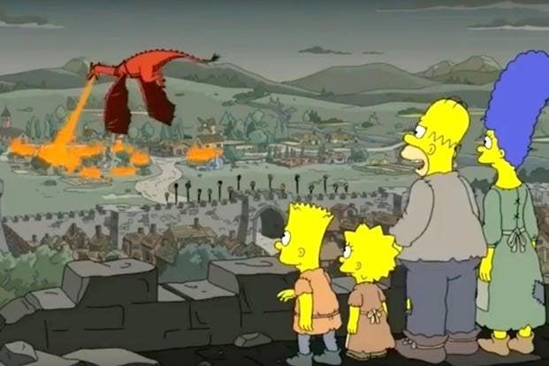 Musim akhir Game Of Thrones juga masuk prediksi The Simpsons (Foto: 20th Century Fox Television)
