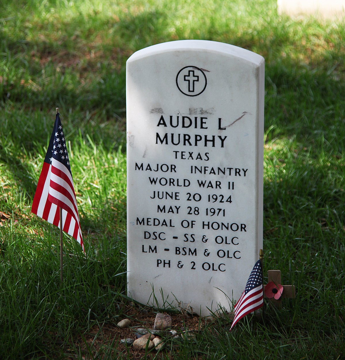 Audie Murphy: American war hero, actor, advocate