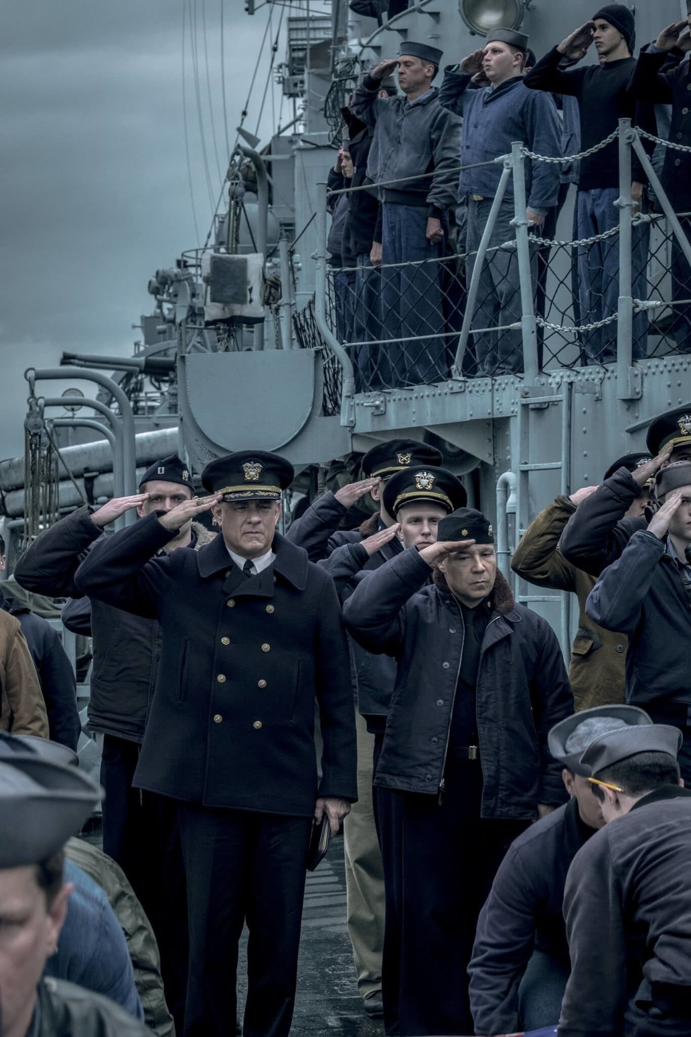 Tom Hanks stars as a naval commander in new WWII film