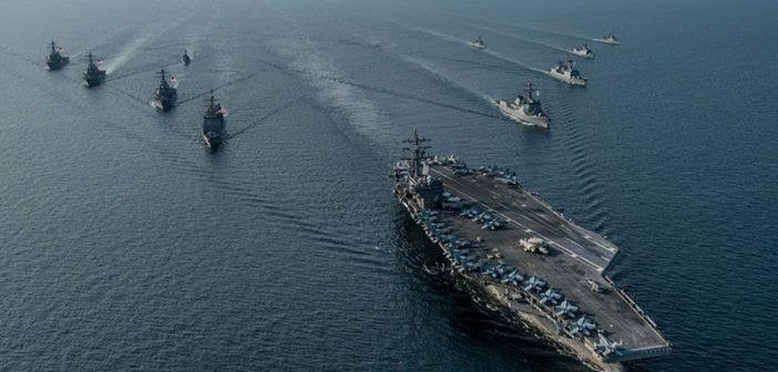 Iran opens annual military exercise with attack on mock U.S. aircraft carrier