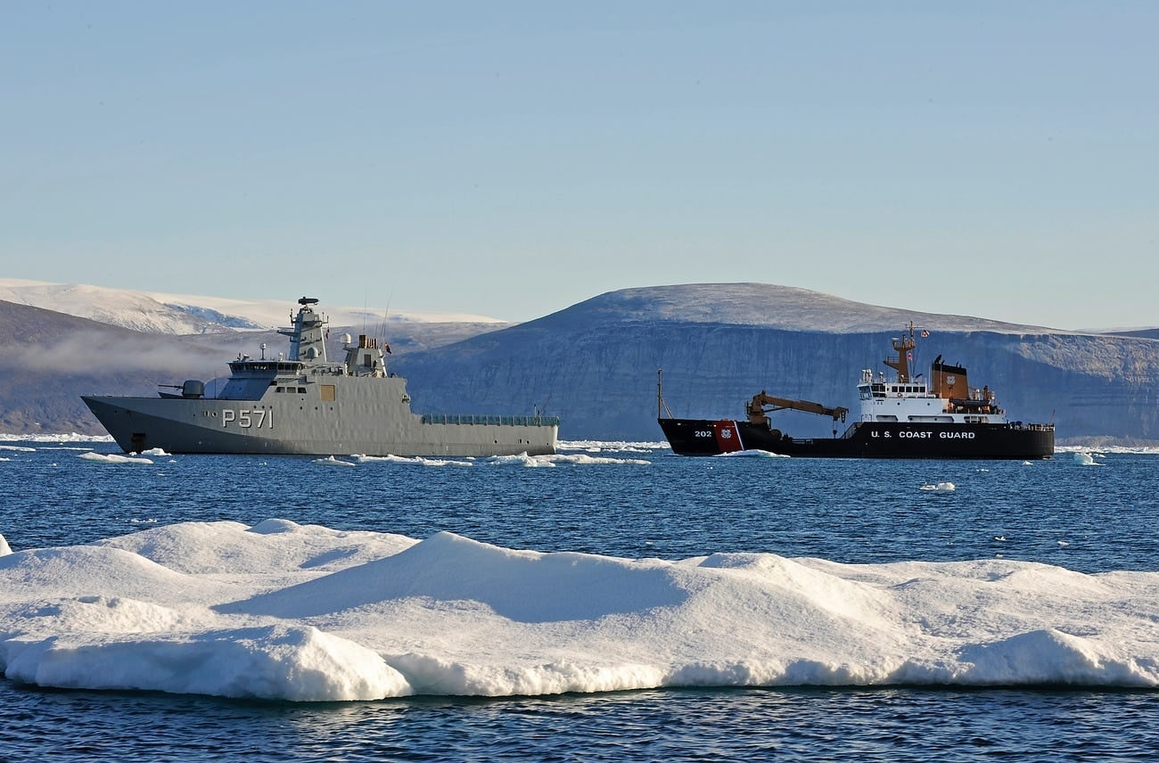 The Navy is putting 'the proper equipment' back on its ships to operate in harsh Arctic conditions