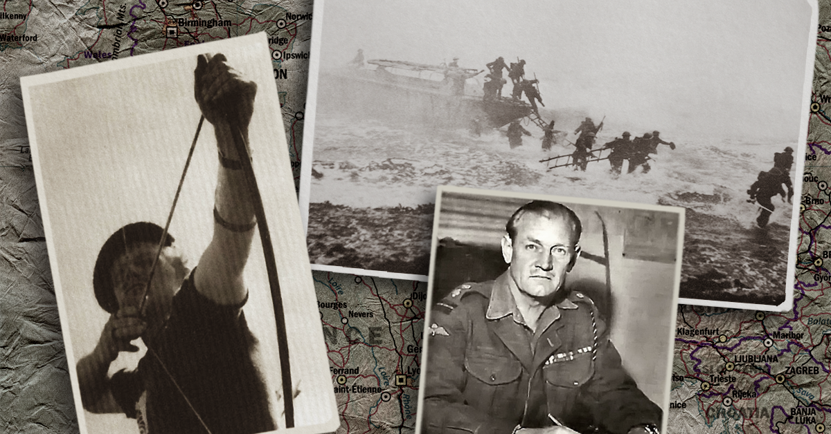 'Mad Jack Churchill': The officer who carried a sword, bagpipes, and a longbow into battle